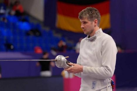 Orădeanul Andrei Timoce, la Campionatul European de Scrimă din Serbia