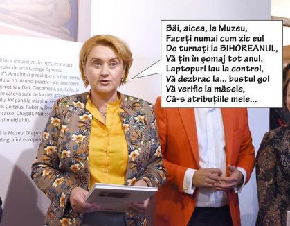 Percheziţii la Muzeu: Directoarea Angela Lupşea le-a cerut subordonaților laptopurile la control