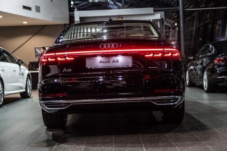 Bun venit în viitor! Noul Audi A8 este în showroom D&C Oradea (FOTO)