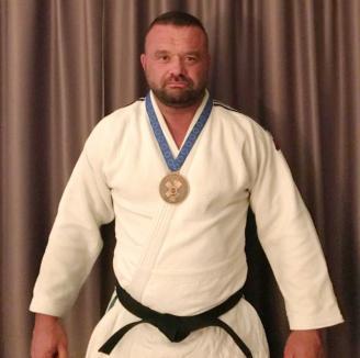 Aurel Gavriş, bronz la Europenele de judo veterani