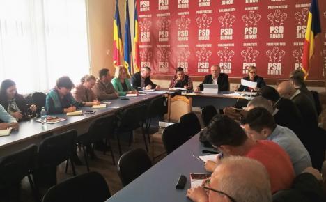 PSD Bihor şi-a stabilit 83 dintre candidaţii la primării, dar nu şi pentru Oradea