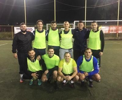 Derby la minifotbal: Față în față, Bad Boys și AEK Oradea