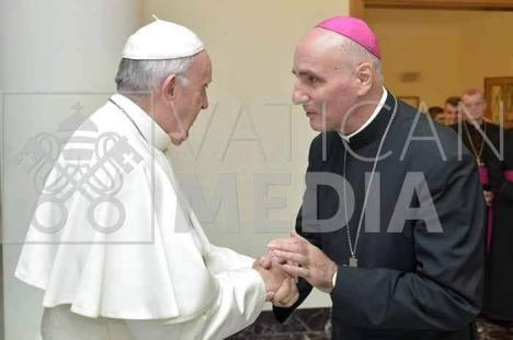 Episcopul greco catolic de Oradea, Virgil Bercea, a fost externat! (FOTO)
