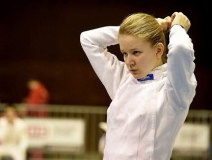 Bianca Benea a ocupat locul 19 la individual şi poziţia a 7-a cu echipa României la etapa de Cupă Mondială de spadă U20