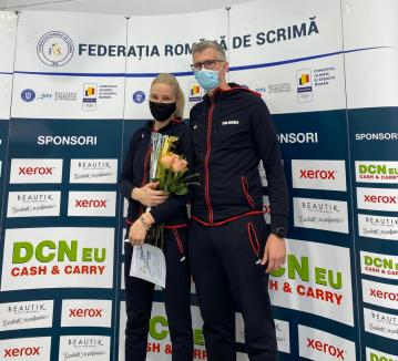 Orădeanca Bianca Benea a câştigat Cupa României la spadă feminin senioare! (FOTO)