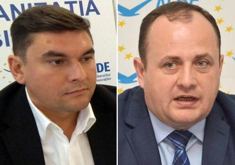 Reglare de conturi în ALDE Bihor: Traian Bodea, înlocuit la şefia filialei cu Ciprian Blejan pe pretext că nu şi-a... plătit cotizaţia