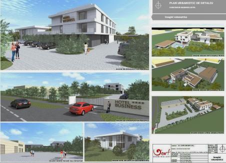 Se construieşte un Business Hotel în parcul industrial din Oradea. Cum va arăta (FOTO)
