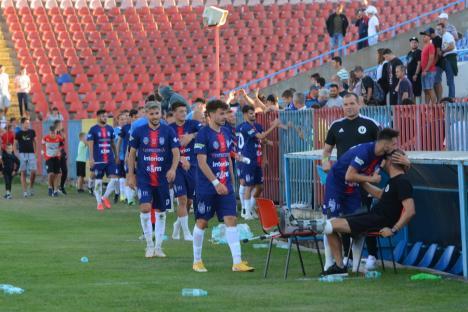 Performanţă: CA Oradea a învins U Cluj şi s-a calificat în şaisprezecimile Cupei României! (FOTO)