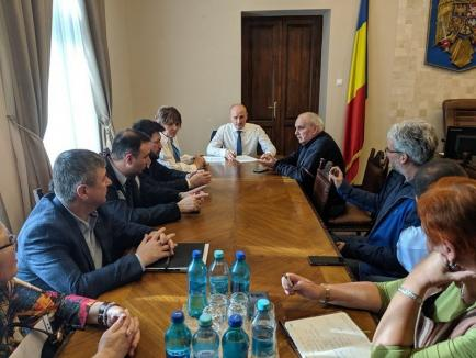 Şedinţă a Comitetului Judeţean pentru Situaţii de Urgenţă din cauza coronavirusului: S-a stabilit un spaţiu pentru carantină şi se dotează vămile cu termo-scannere