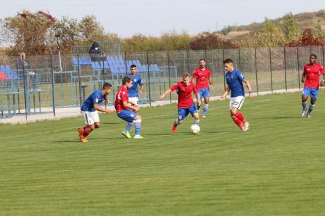 Performanţă istorică: CSC Sânmartin s-a calificat în şaisprezecimile Cupei României la fotbal! (FOTO)