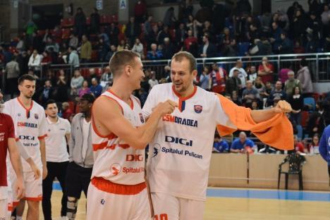 Victorie facilă pentru baschetbalişti: 108-55 cu BC Mureş (FOTO)