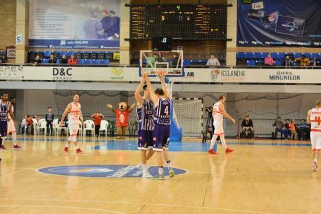 CSM CSU Oradea a jucat slab şi a pierdut cu 81-87 în faţa timişorenilor. Achim anunţă măsuri în cadrul lotului! (FOTO)