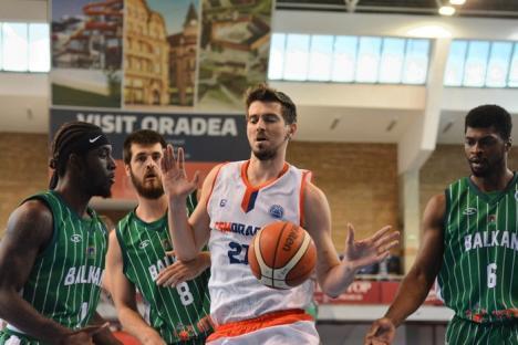 Baschetbaliştii de la CSM CSU Oradea au ratat la un singur punct calificarea în turul doi preliminar al FIBA Europe Cup (FOTO)