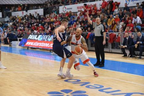 Joc dificil şi înfrângere cu Tsmoki Minskpentru CSM CSU Oradea (FOTO)