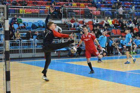 Victorie clară şi cu rezervele pentru CSM Oradea, în disputa cu ADEP Satu Mare (FOTO)