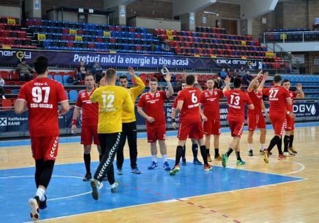 Drum liber spre promovare: CSM Oradea s-a desprins la 9 puncte în fruntea clasamentului Diviziei A, Seria B