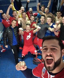 Din victorie în victorie: Handbaliştii de la CSM Oradea s-au impus şi la Reşiţa