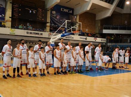 Baschet: CSM CSU Oradea joacă azi, de la ora 18, la Timișoara, cu BC Timba