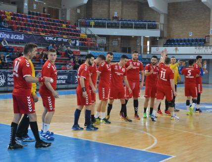 Handbal: CSM Oradea joacă duminică pe teren propriu cu CSM Școlar Reșița