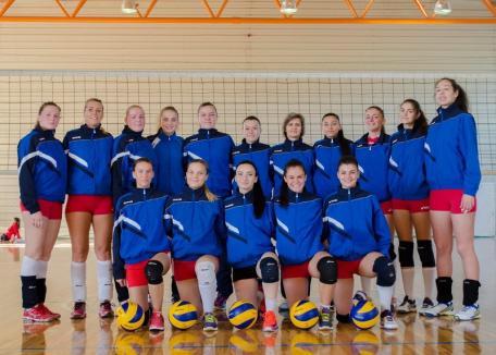 Volei feminin: Fetele de la CSU Oradea au încheiat prima fază a campionatului pe locul II