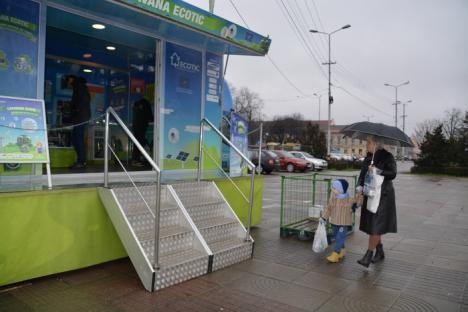 Caravana Ecotic a parcat în Oradea, cu premii pentru cei care reciclează deşeuri electrice (FOTO)