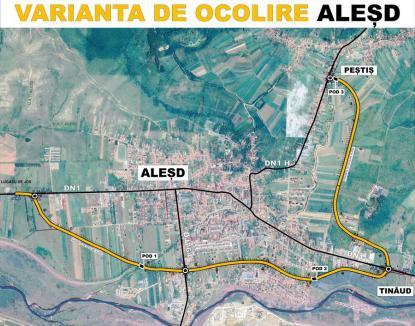 Concurență acerbă la licitația Consiliului Județean Bihor pentru proiectarea și construirea centurii orașului Aleșd