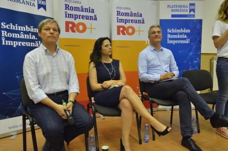 Oameni noi în politică: Bihorul, în topul judeţelor cu cele mai multe semnături strânse pentru iniţiativa Mişcării România Împreună a lui Cioloş