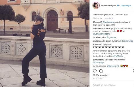 Celebra actriță Vanessa Hudgens din High School Musical a venit în vizită la Oradea! (FOTO)