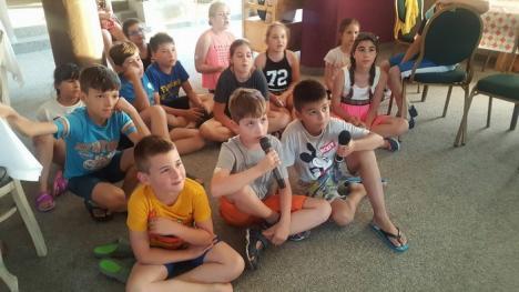 Lions Oradea 22 a dus în tabără 16 copii bolnavi de diabet (FOTO)