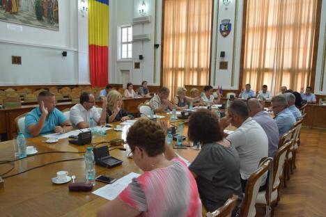 Vitejie à la PSD: La o zi după ce-au făcut tărăboi pentru presă pe marginea Raportului Camerei de Conturi la Primăria Oradea, mucles la şedinţa Consiliului Local