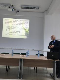 Universitatea din Oradea va colabora cu Asociaţia Balcanică de Mediu