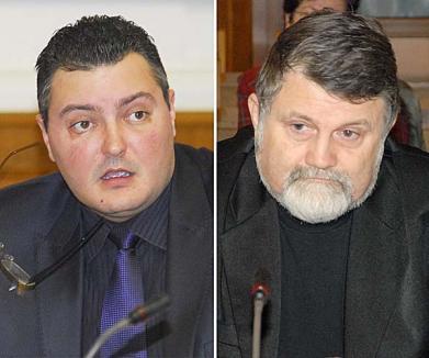 Medicul Nicuşor Lăpădatu şi consilierul local Dorin Corcheş se 'bat' pentru şefia PDL Oradea