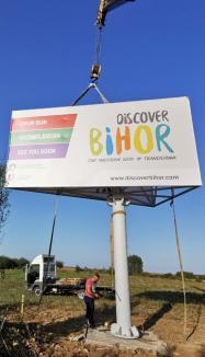 În sfârșit! 11 panouri și 250 de indicatoare promovează cele mai frumoase destinaţii turistice din Bihor