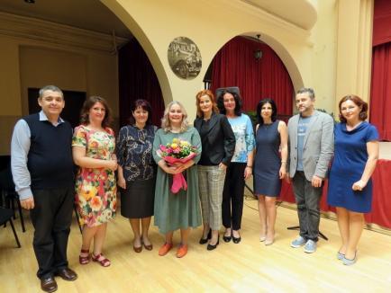 Actriţa Ioana Gajdo le-a vorbit asistenţilor personali despre provocările îngrijirii persoanelor cu dizabilităţi (FOTO)