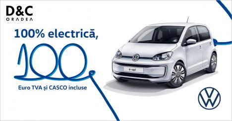 D&C Oradea te invită să testezi noul Volkswagen e-up!