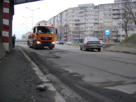 Top hârtop: cele mai proaste drumuri ale Oradiei (FOTO)