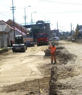 Capătul Căii Clujului este asfaltat pentru prima dată