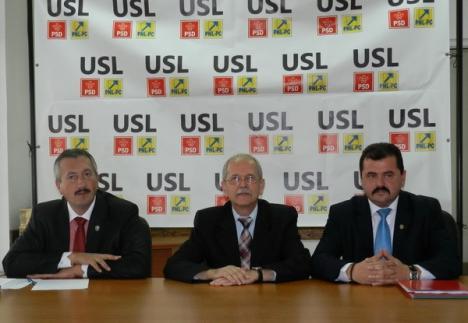 """USL şi-a dezvăluit sloganul: """"Împreună pentru Bihor!"""""""