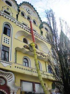 Palatul Vulturul Negru, în renovare
