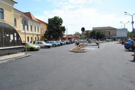 Lucrările din Piaţa Bucureşti, aproape de final