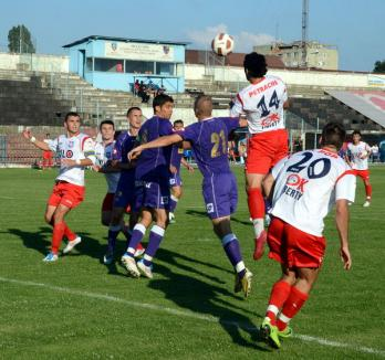 FC Bihor a învins vicecampioana Poli Timişoara cu 3-1 (FOTO)