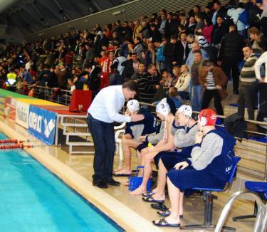 Poloiştii orădeni au ratat calificarea în semifinalele Cupei LEN
