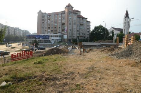 Fântână la înălţime: un deal abandonat va fi transformat într-un parc cu arteziană şi perete de apă (FOTO)