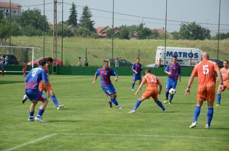 În ultimul amical, Luceafărul a bătut cu 1-0
