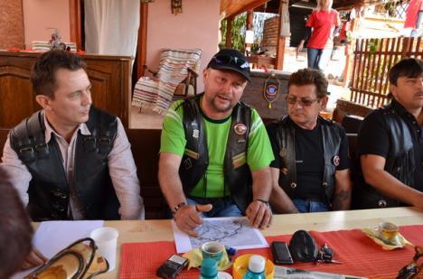 Sute de motociclişti vor mărşălui prin patru judeţe pentru a cere respect în trafic