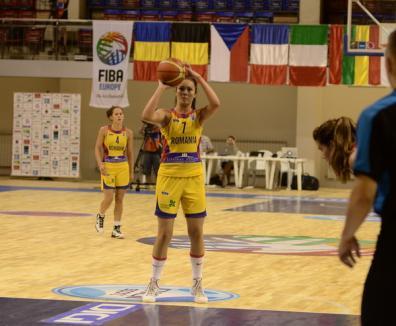 Învinsă şi de Slovenia, echipa României a ratat orice şansă de a se califica în sferturile de finală ale CE de baschet de la Oradea
