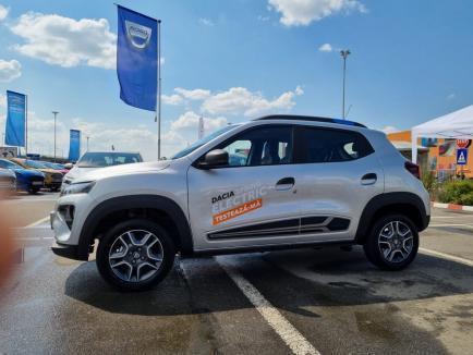 Dacia Spring, primul model electric al gamei Dacia, poate fi testat de clienții Auto Bara