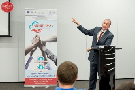 Eveniment Arhidava, la Trade Center: Economia digitală, factor major de creştere a afacerii (FOTO)