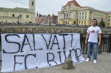 Suporterii echipei FC Bihor caută soluţii de finanţare pentru clubul de fotbal