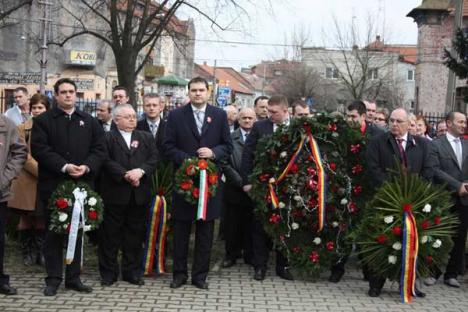 PDL-iştii au tras chiulul UDMR la festivităţile de Ziua Maghiarimii (FOTO)